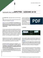 Guida al Computer - Lezione 10