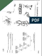 1987 Biology Paper1 + Marking Scheme