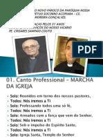 MISSA DE POSSE DO NOVO PÁROCO DA PARÓQUIA