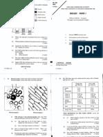 1991 Biology Paper1