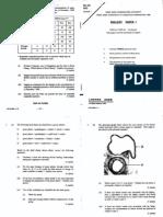 1992 Biology Paper1