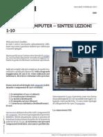 Guida al Computer - Sintesi Lezioni 1-10