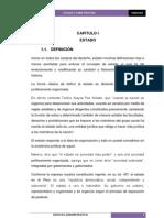 ADMINISTRATIVO - estado y constitución