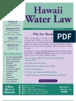 Hawaii Water Law, January 2012