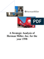 A Strategic Analysis of Herman Miller