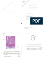 2004 Biology Paper1