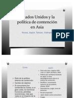 Estados Unidos y la política de contención en Asia