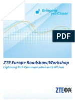 ZTE Europe Roadshow