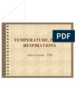 temperature pulse respiration