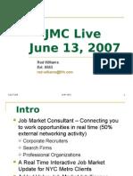 JMC Live 6-07 Pres