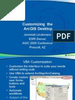 Customizing Arc Gis Desktop