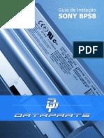 Guia Instalação Baterias Notebook Sony