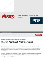 Chomp Charts October