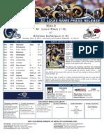 Week 9 - Rams at Cardinals