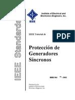 IEEE Proteccin de Gene Rad Ores Sincronicos