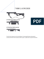 37 Mm Launch Able Munitions
