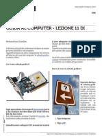Guida al Computer - Lezione 11