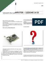Guida al Computer - Lezione 14