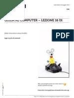 Guida al Computer - Lezione 16