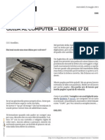 Guida al Computer - Lezione 17