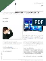 Guida al Computer - Lezione 18
