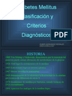 Clasificacion y Criterios Diagnosticos