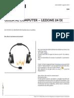 Guida al Computer - Lezione 24