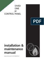 Manuel d'Utilisation de La Centrale de Detection Incendie Cfp704-4