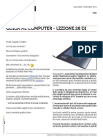 Guida al Computer - Lezione 28