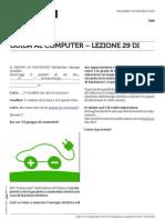 Guida al Computer - Lezione 29
