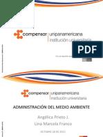 ADMINISTRACIÓN DEL MEDIO AMBIENTE