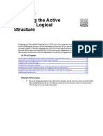 Designing the Active Directory Logical Structure