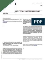 Guida al Computer - Sintesi Lezioni 21-30