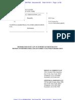 NBPA dismissal