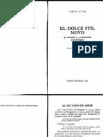 Dolce Stil Nuovo (Antología) (1)