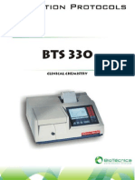 Bts330 Bioch Manual Operacion