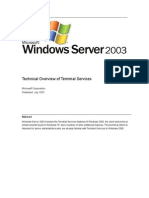 Terminal Server Overview