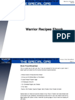 TACFIT Warrior Recipes
