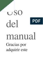 Manual Cata
