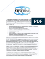 El Sistema de Radio Enlace Terrestre TETRA