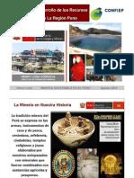 Potencial Minero de La Region Puno