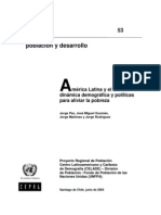 América Latina Comportamientos demográficos