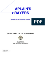 GL Wisconsin - Chaplain Prayers