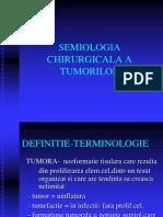 Semiologia Chirurgicala a Tumorilor