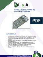 Ficha Tecnita La t812 288x 18w
