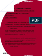 UMF - raport calitativ