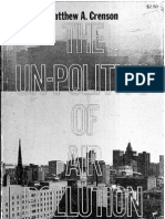 Crenson 1971 Unpolitics of Air Polution