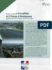 REG2005 Explication de la Circulaire du 31 Mars 2005 Sur La Politique du 1% Paysage _FR