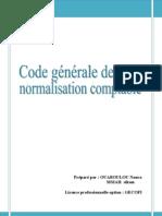 Code générale de normalisation comptable 1
