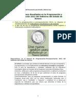 GpR en Presupuestacion 2012 Sonora